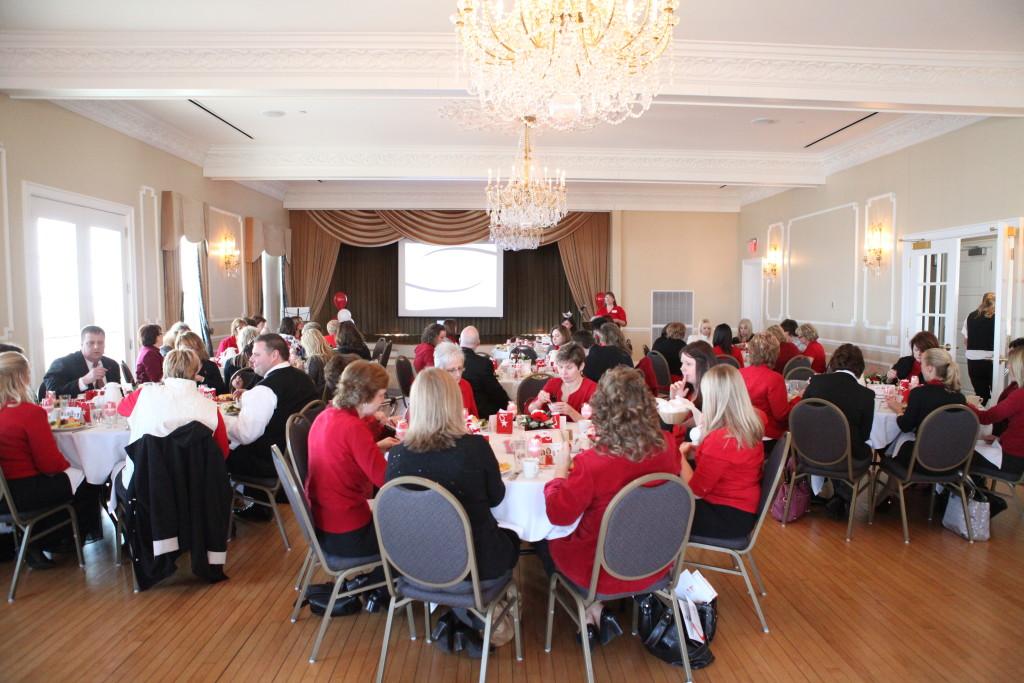 Business Ballroom-Go Red